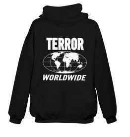 Terror Worldwide Terror Worldwide hooded vest zwart Terror