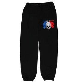 Frenchcore Frenchcore jogging broek zwart Skulls