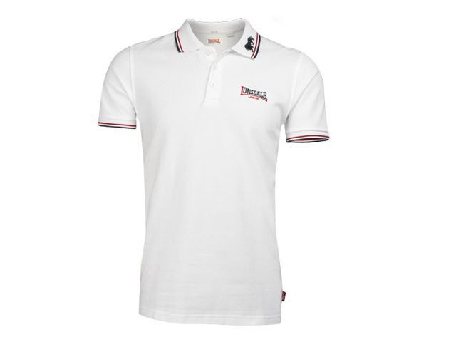 Lonsdale Lonsdale polo wit