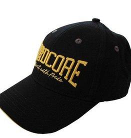 100% Hardcore 100% Hardcore cap geel Neon