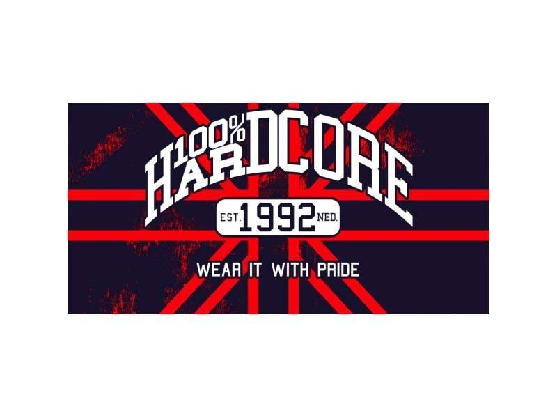 100% Hardcore 100% Hardcore vlag Britain