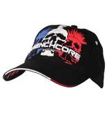 Frenchcore Frenchcore cap zwart Triple Mohawk