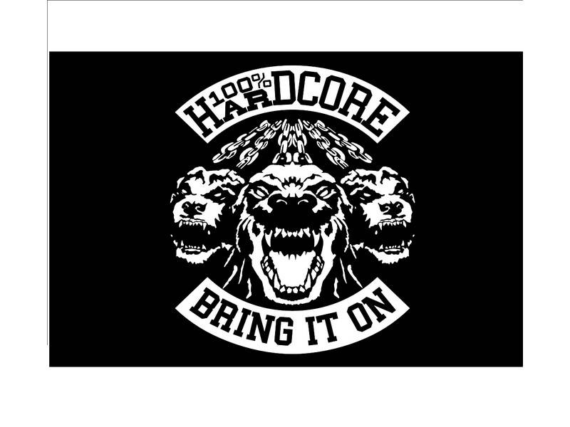 100% Hardcore 100% Hardcore vlag 'Bring It On
