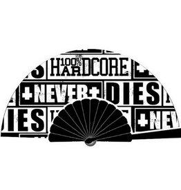 100% Hardcore 100% Hardcore waaier Never Dies Black