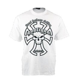 Hooligan Streetwear Hooligan t-shirt wit Templar
