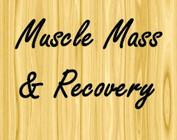 Muscle mass & recovery