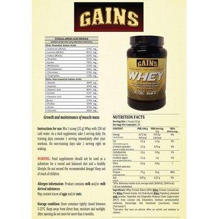 GAINS Whey
