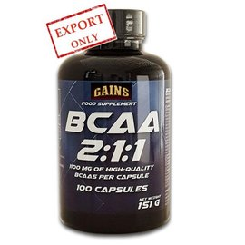 GAINS BCAA 2:1:1 (caps)