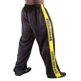 Gorilla Wear Track Pants - Black/Yellow