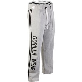 Gorilla Wear 2-Stripe Sweatpants - Light Grey