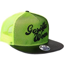 Gorilla Wear Men's Mesh Cap - Neon Lime