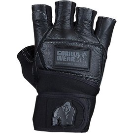 Gorilla Wear Hardcore Gloves + Wrist Wraps