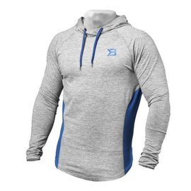 Better Bodies Performance Mid Hood - Grey Melange