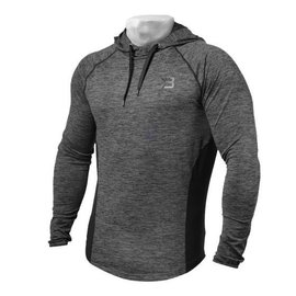Better Bodies Performance Mid Hood - Graphite Melange