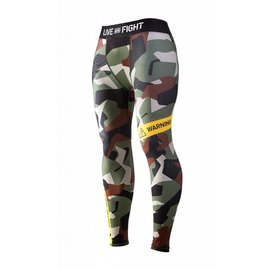 Olimp Live & Fight Men's Leggings - Classic Camo