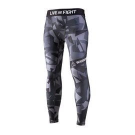Olimp Live & Fight Men's Leggings - Classic Black