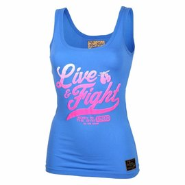 Olimp Live & Fight Tank Top Original 90 - Blue