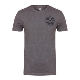 Gold's Gym Basic T-shirt with Chest Logo - Grey Marl