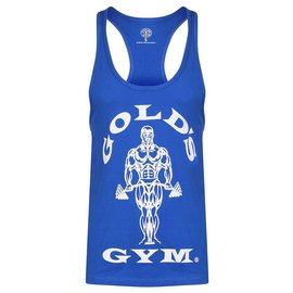 Gold's Gym Muscle Joe Premium String Vest - Royal