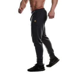 Gold's Gym Fitted Jog Pants - Charcoal Marl