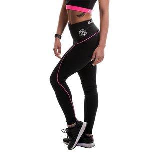 Gold's Gym Ladies Long Gym Leggings - Black/Pink