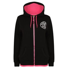 Gold's Gym Gold's Gym Muscle Joe Zip Through Fleece Hoodie - Black