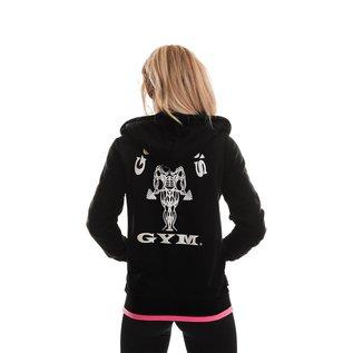 Gold's Gym Gold's Gym Muscle Joe Zip Through Fleece Hoodie - Black
