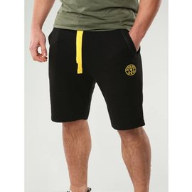 Gold's Gym Logo Sweat Shorts - Black