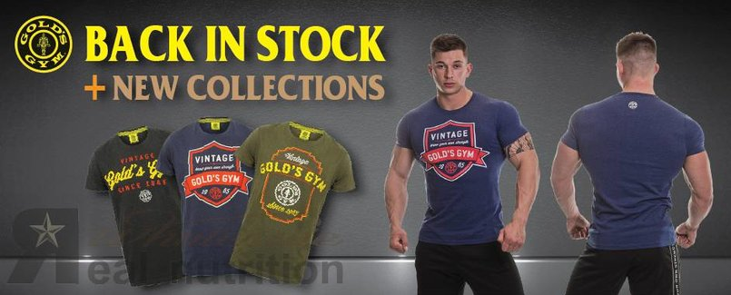 GOLD'S GYM BACK IN STOCK_REAL NUTRITION