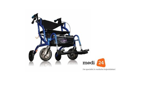 Able2 Airgo Fusion rollator/transportstoel