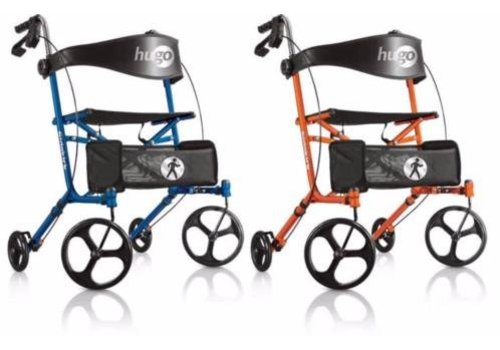 Able2 Hugo Sidekick Rollator blauw of oranje