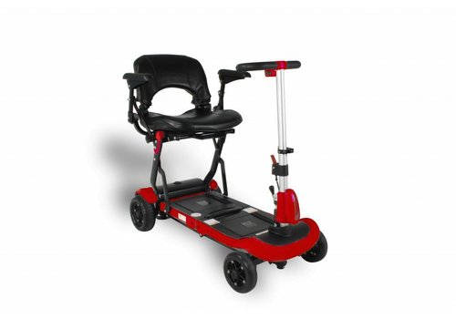 Solax Reisscootmobiel Solax Deluxe  Rood of Blauw