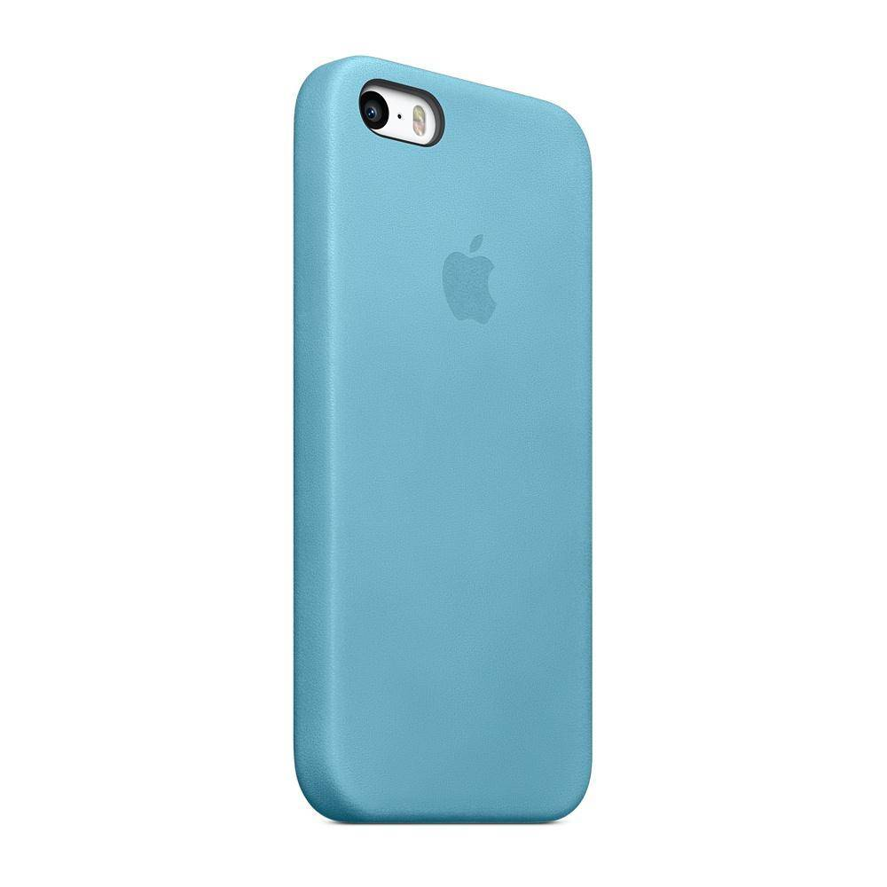 Apple iPhone 5/5S/SE Case Leather Blauw MF044ZM/A