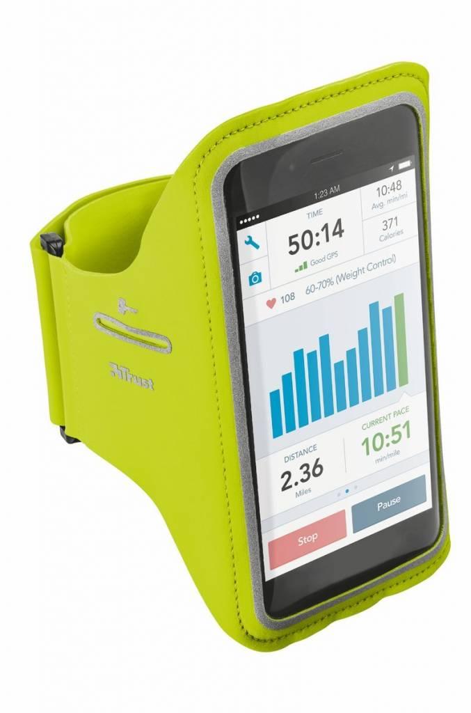 Trust Urban Sportarmband - iPhone 6 Plus / 6S Plus - Limoengroen