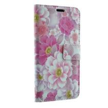 Samsung Galaxy S7 Book Case Flowers Print