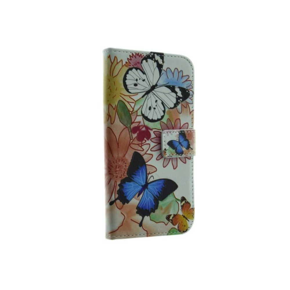 Mobicase Samsung Galaxy S6 Edge Book Case Mobicase Flower Vlinders