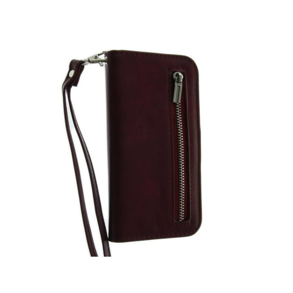 Mobicase iPhone 6-6S Mobicase Portemonnee Case Cherry Rood