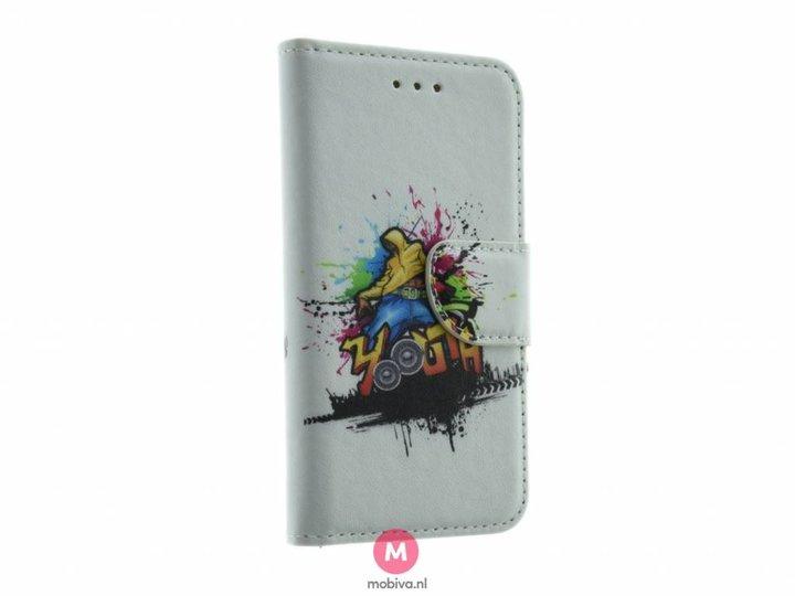 Mobiva iPhone 5/5S/SE Mobiva Book Case Streetdance