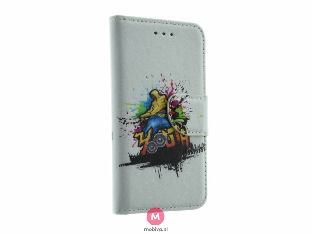 iPhone 5/5S/SE Mobiva Book Case Streetdance