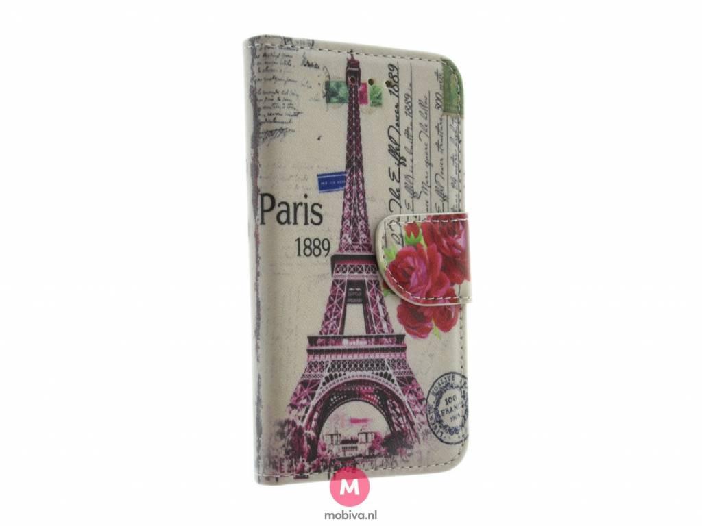 iPhone 5/5S/SE Book Case Eiffeltoren/Big Ben