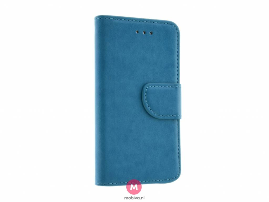iPhone 5/5S/SE Mobiva Book Case Turquoise