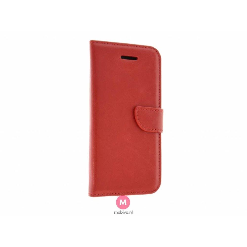 Mobicase iPhone 5/5S/SE Mobicase Book Case Costa Rood