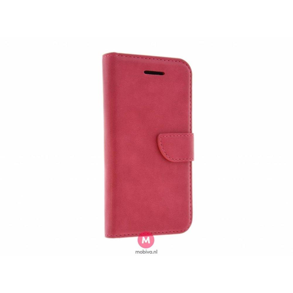 Mobiva iPhone 5/5S/SE Mobiva Book Case Roze