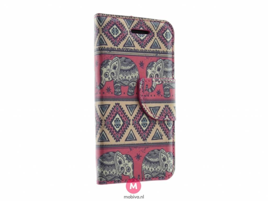 iPhone 5/5S/SE Mobiva Book Case Olifant