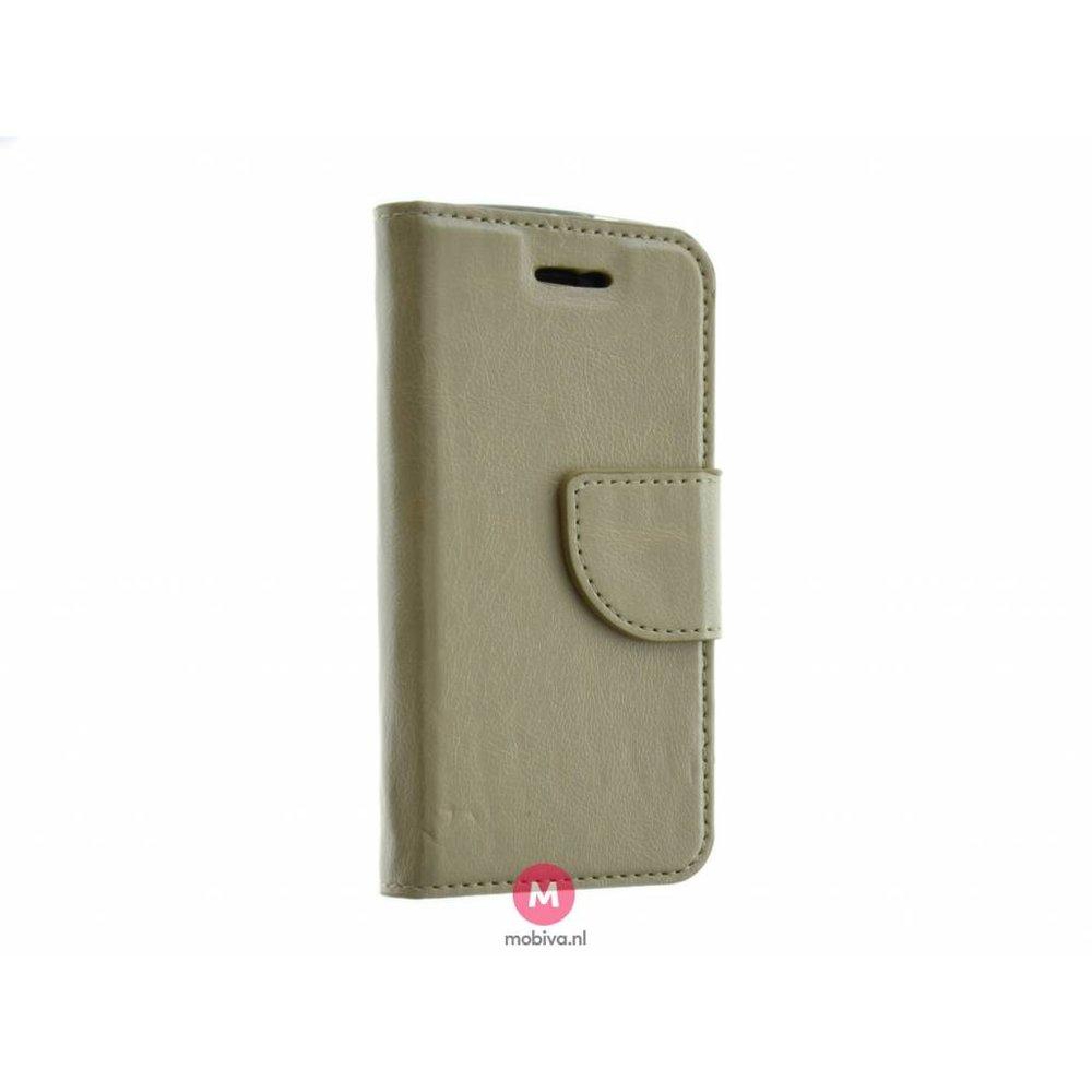 Mobiva iPhone 5/5S/SE Mobiva Book Case Goud