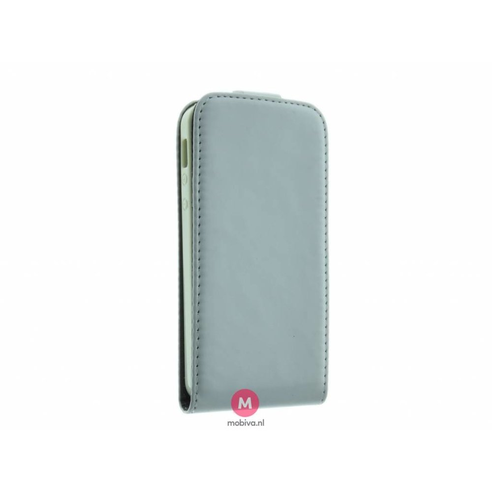 Mobicase iPhone 5/5S/SE Costa Flip Case Wit