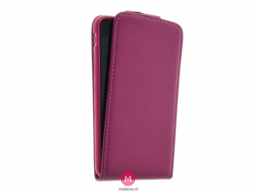 Mobicase iPhone 6 Flip Case Roze