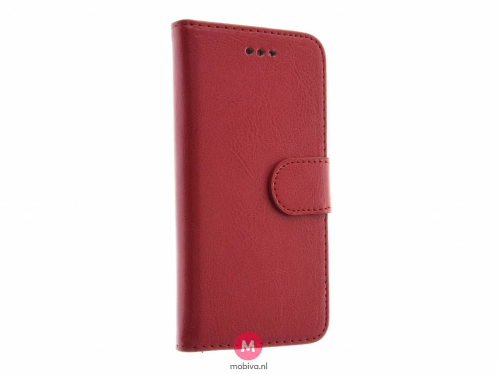 Forcell iPhone 6/6S Book Case Kabura Twin 2in1 Rood