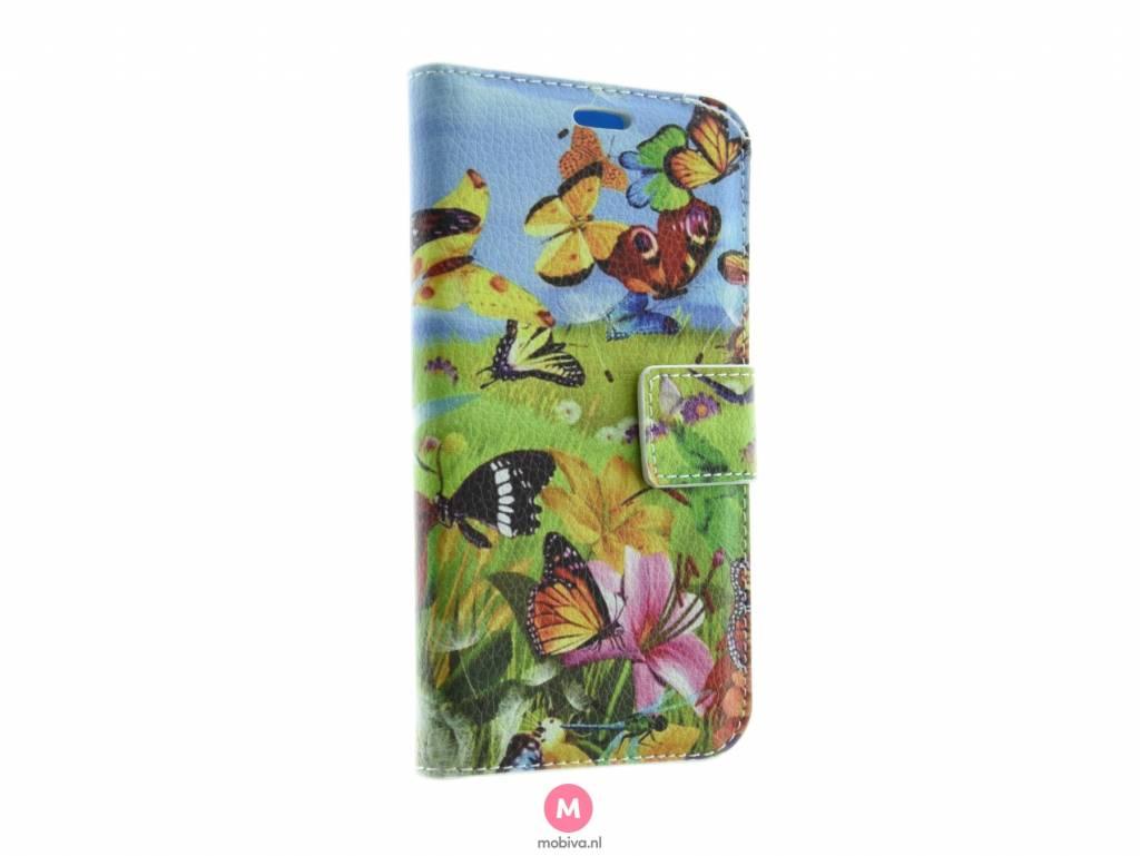 Samsung Galaxy S7 Book Case Vlinders