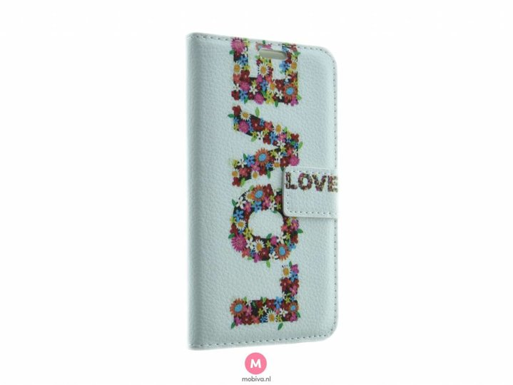 Mobicase Samsung Galaxy S7 Book Case Love Case